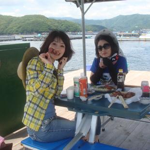 三吉丸の筏・磯イメージ